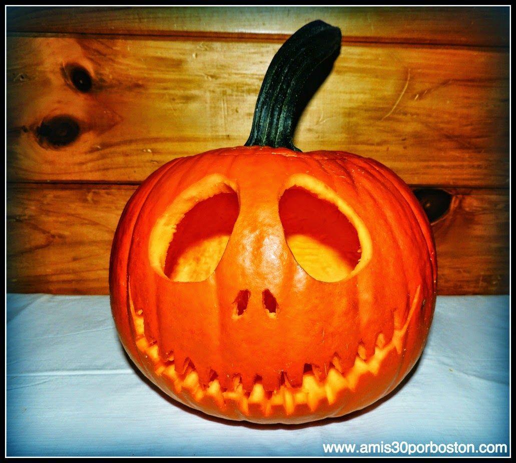 Nuestras calabazas decoradas para halloween halloween - Calabazas decoradas ...