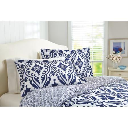 46e3649c1a5167641a3ce38ec2c23421 - Better Homes And Gardens Indigo Paisley Comforter Set
