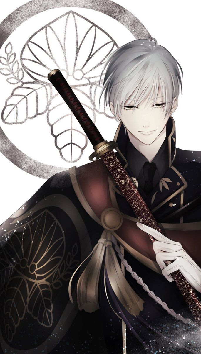 ภาพที่ถูกฝังไว้ 刀剣乱舞 (Touken Ranbu) Pinterest Anime