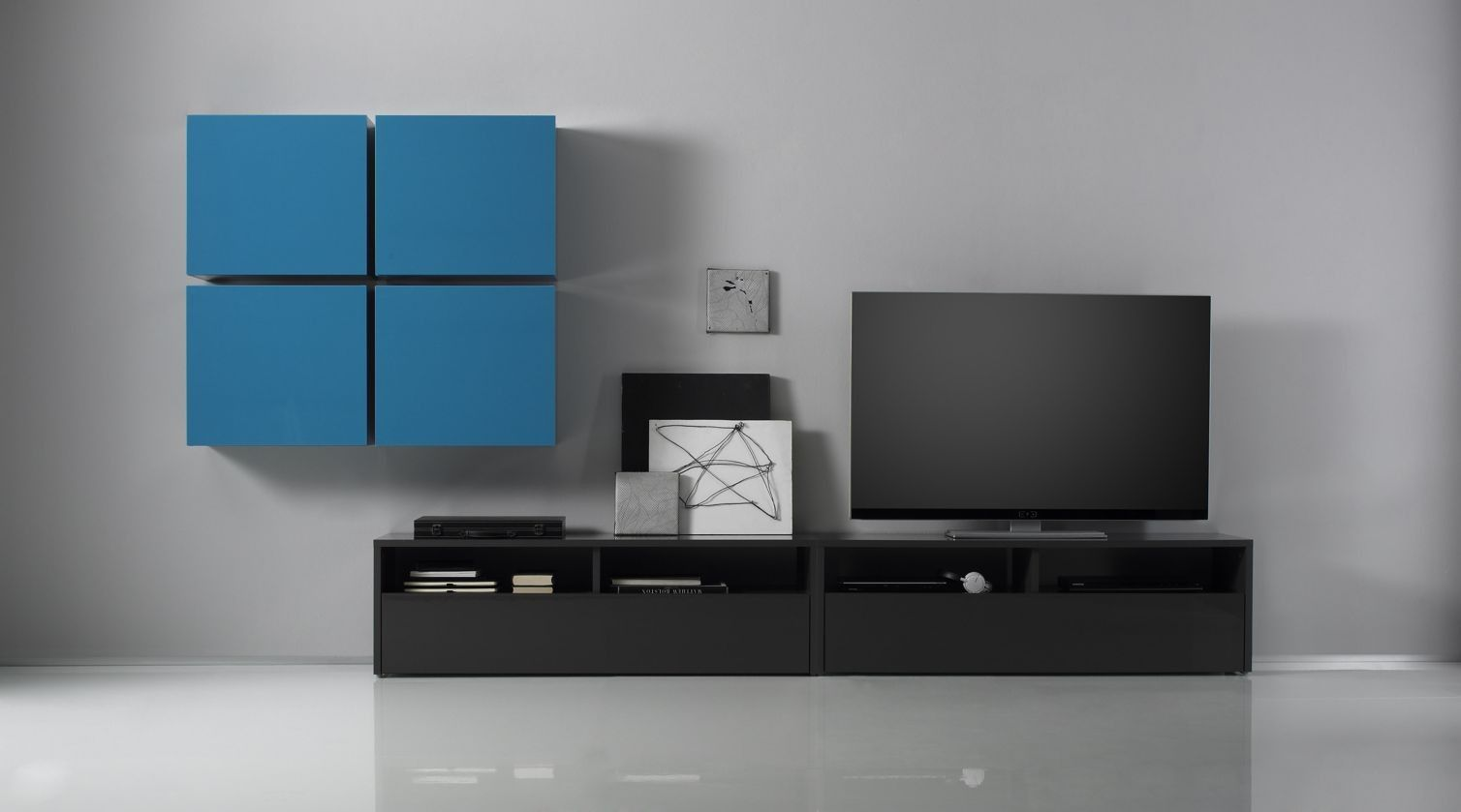 Linea Color 9 Wall Units  # Meuble Tv Vente Privee