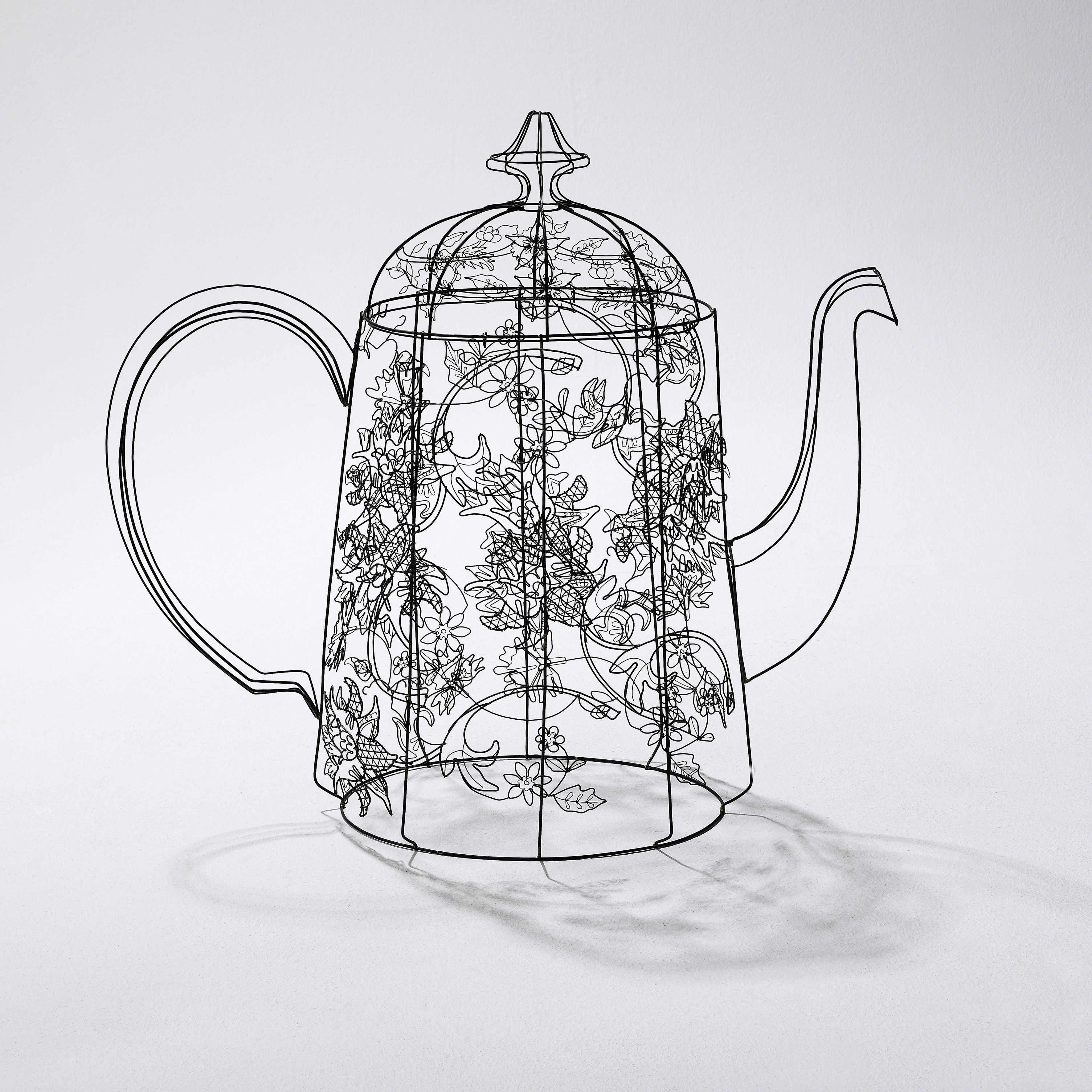 Make wire sculpture from tiny to tall. Tutor: Cathy Miles Capture ...