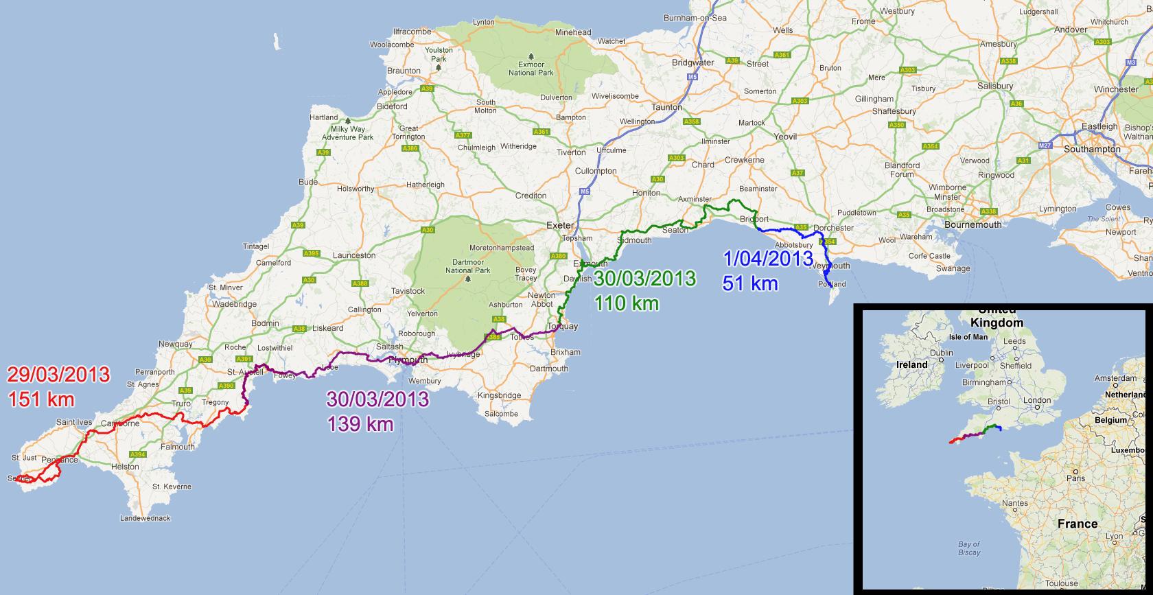 Cote Sud Angleterre la côte sud de l'angleterre 2 – printemps 2013   vacances d'été 2016