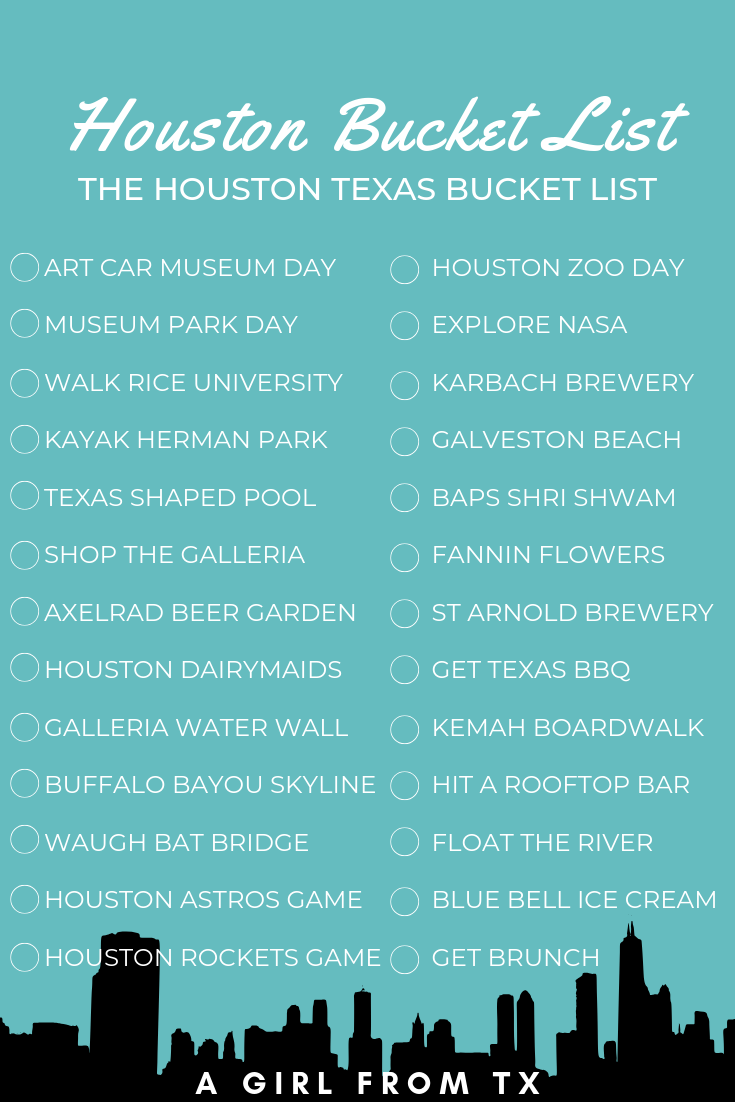 The Ultimate Texas Bucket List Everything You Should Do When In Texas A Girl From Texas Texas Bucket List Houston Bucket List Bucket List
