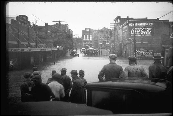 Old Chattanooga, Tennessee. Calculating Flood Damages Averted