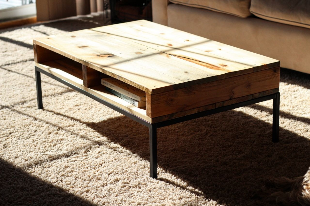Coffee Table Reclaimed Wood And Metal Coffee Table Zab Living - Distressed wood and metal coffee table