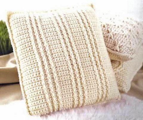 Picture of Aran Pillows to Crochet | Aran Blanket crochet ...