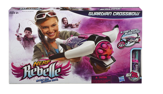 NERF Rebelle Guardian Crossbow Blaster & Darts | Amazon Price Matched = HOT DEAL!