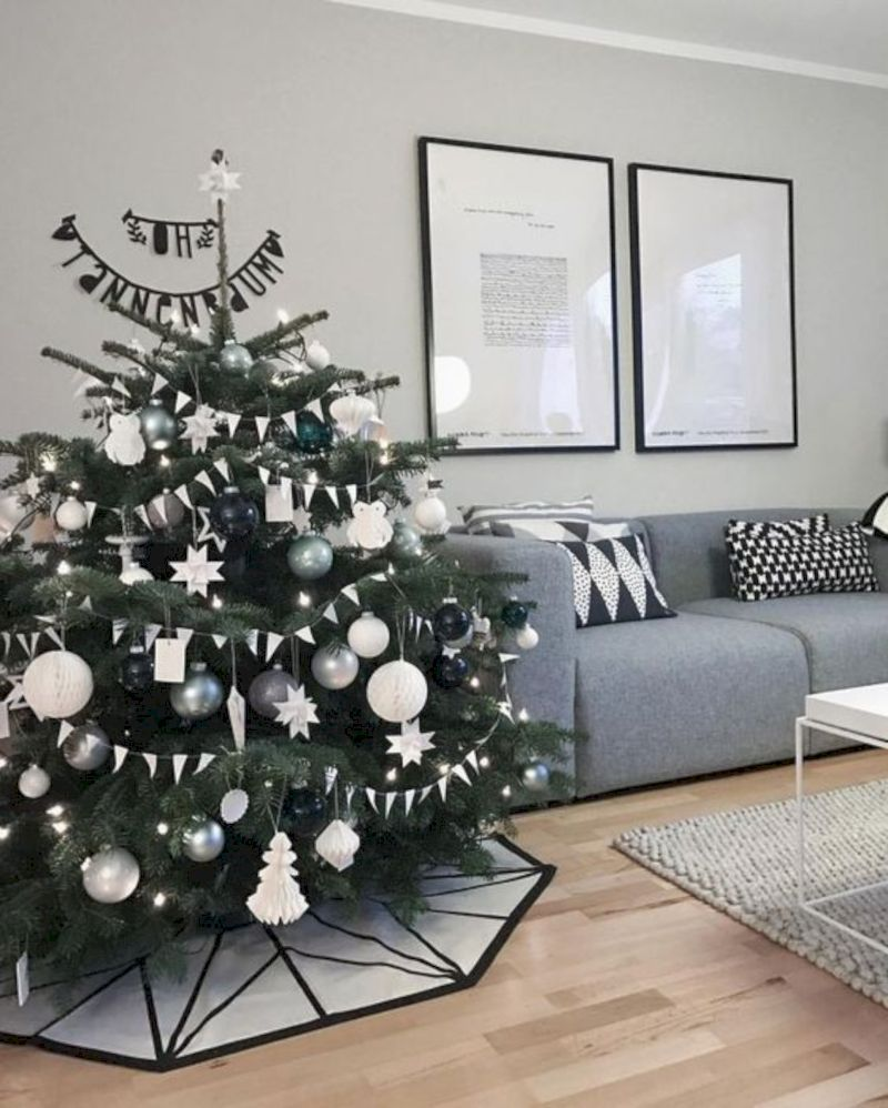 These 5 Apartment Decoration Ideas are Perfect for Christmas #kerstboomversieringen2019