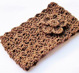 Easy Crochet Headband free pattern on Ravelry