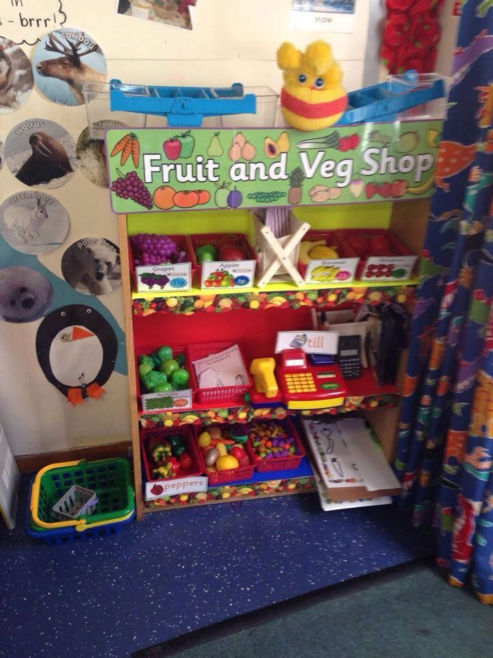 Classroom Displays Facebook Fruit And Veg Role Play
