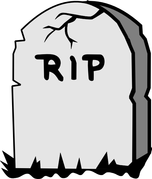 Attractive Tombstone Drawings Free - ClipArt Best | OVER THE HILL | Pinterest PL59