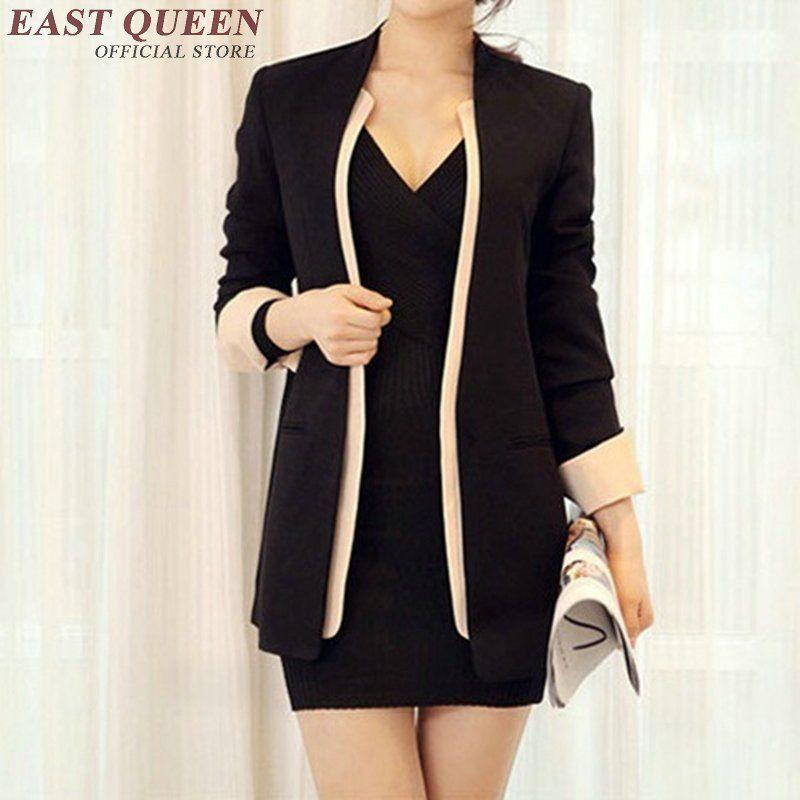Office Uniform Designs Women Ladies Blazers Business Suit ...