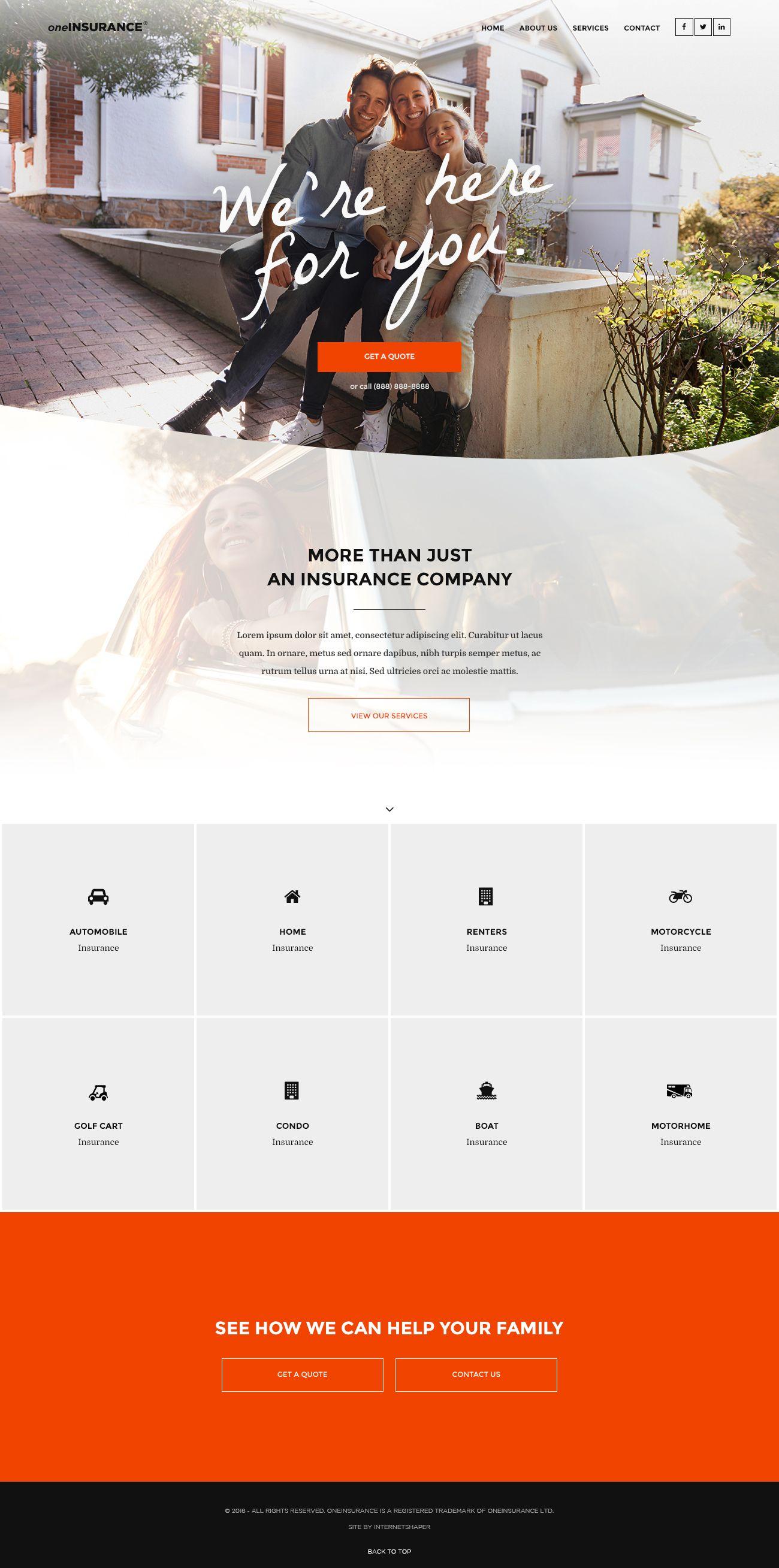 Bootstrap template 1170px 01202016 | Web Inspiration | Pinterest ...