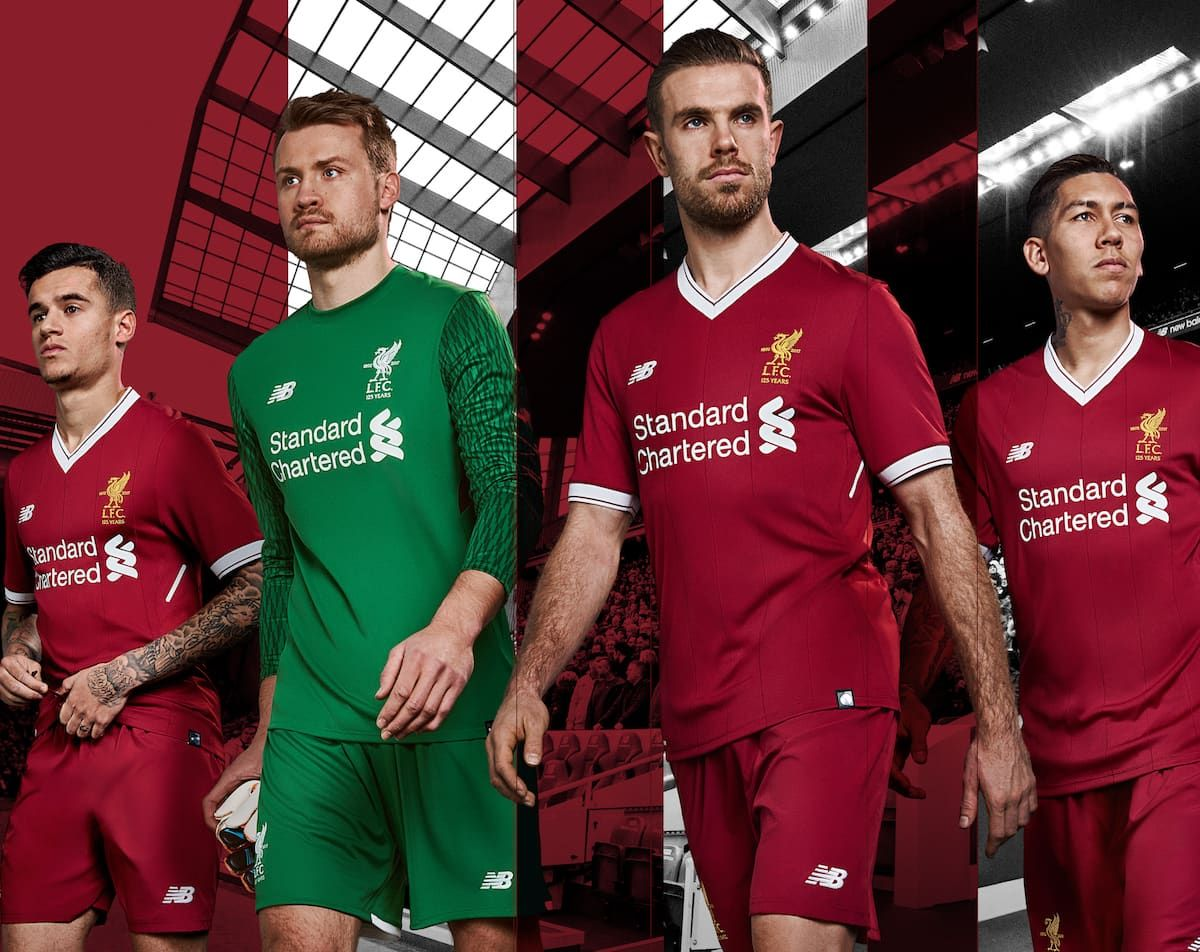 Design your own t shirt liverpool - Win The New Liverpool Home Shirt For 2017 18