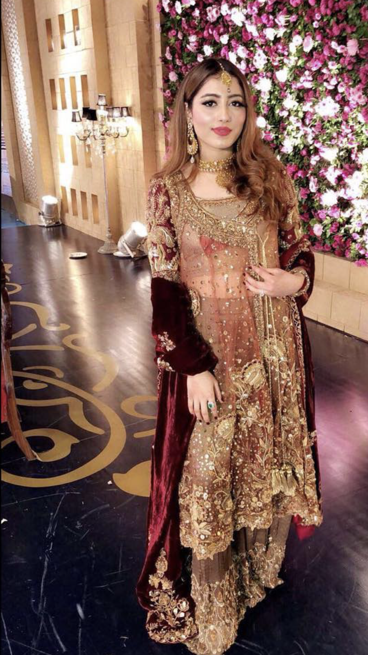 Brides cousin Mehndi/barat outfit | special occassions in