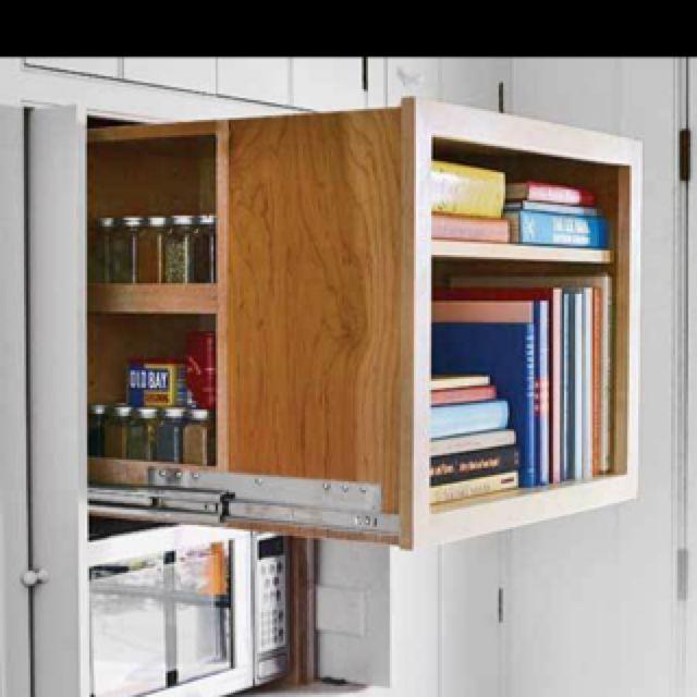Secret storage Storage Pinterest Küche und Häuschen - apothekerschrank für küche