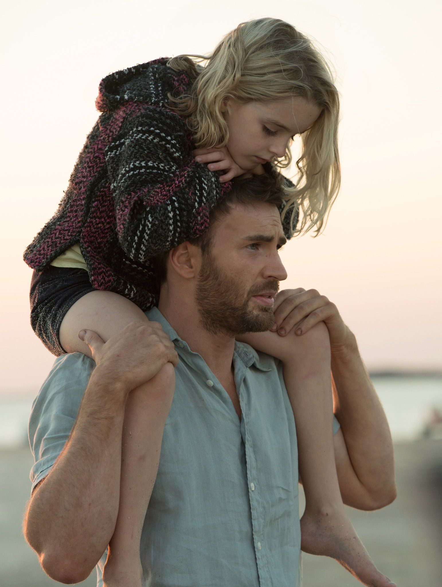 First look at Chris Evans in Marc Webb's upcoming drama film Gifted. The Fox Searchlight film will be released on April 12, 2017.