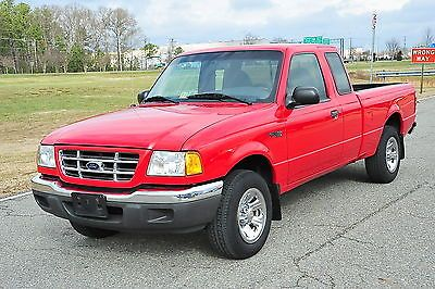2001 Ford Ranger Xlt Xcab Extended Cab 5 Speed For Sale Ford