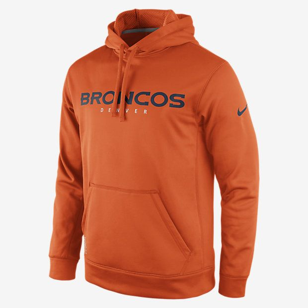 buy popular 45449 5a15e Nike KO Wordmark Essential Pullover (NFL Broncos) Men s Training Hoodie