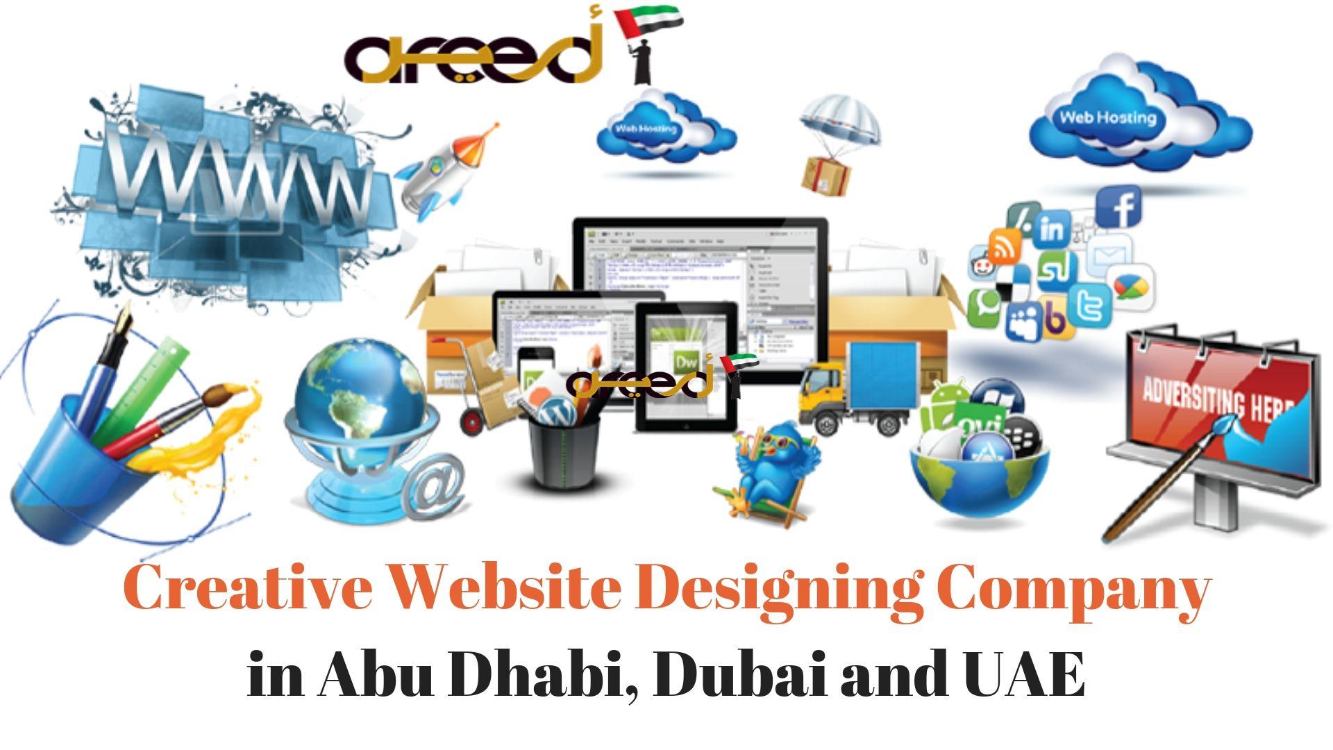 Top Web Design Company in Abu Dhabi, Dubai and UAE - Areed