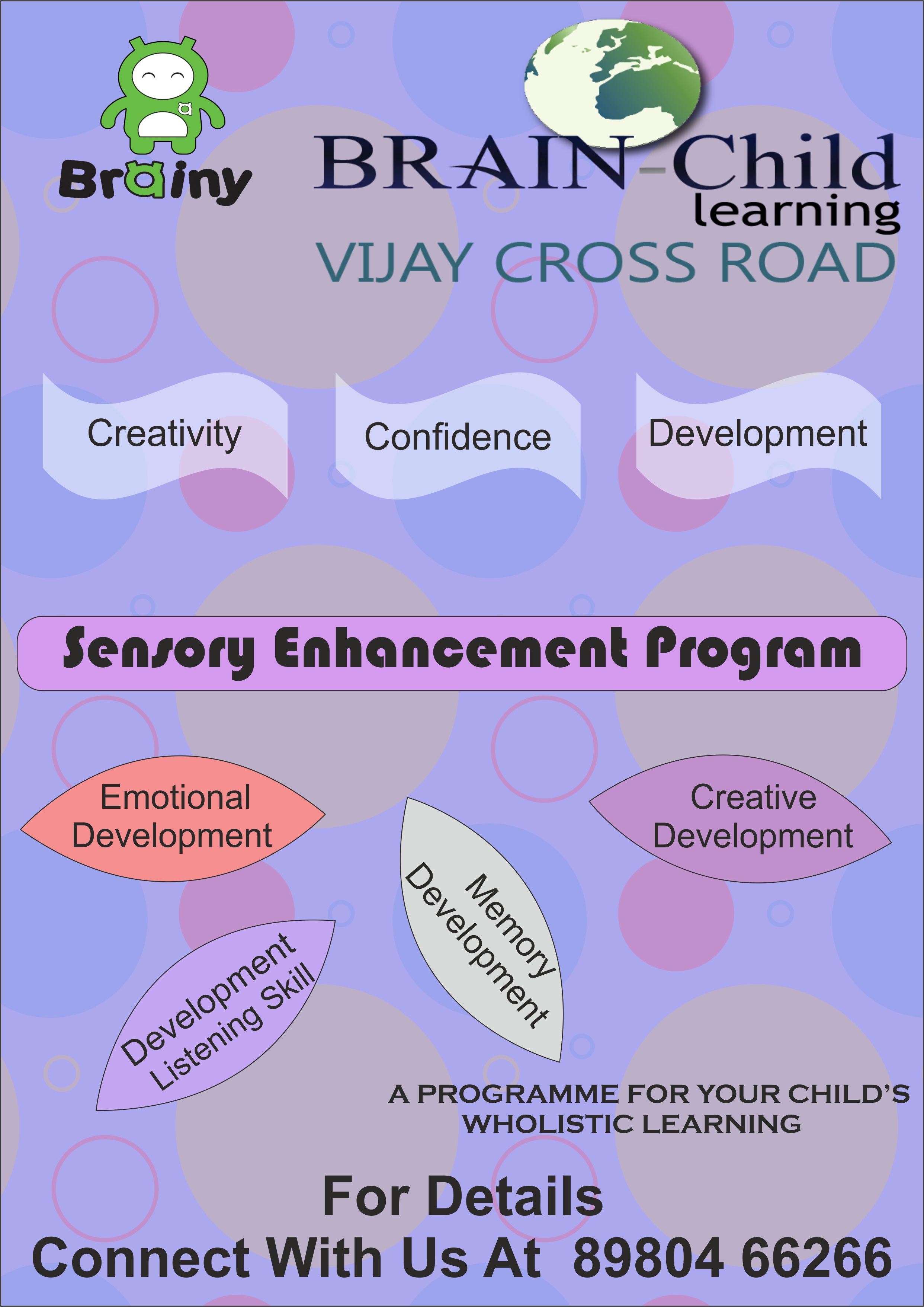 Sensory Enhancement Program At Brain Child Learning Vijay Cross Road Center Ahmedabad Emotionaldevelopment Memorydevelopment Creativedevelopment