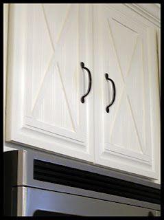 Diy Cabinet Door Update  Wallpaper U0026 Wood Detailing
