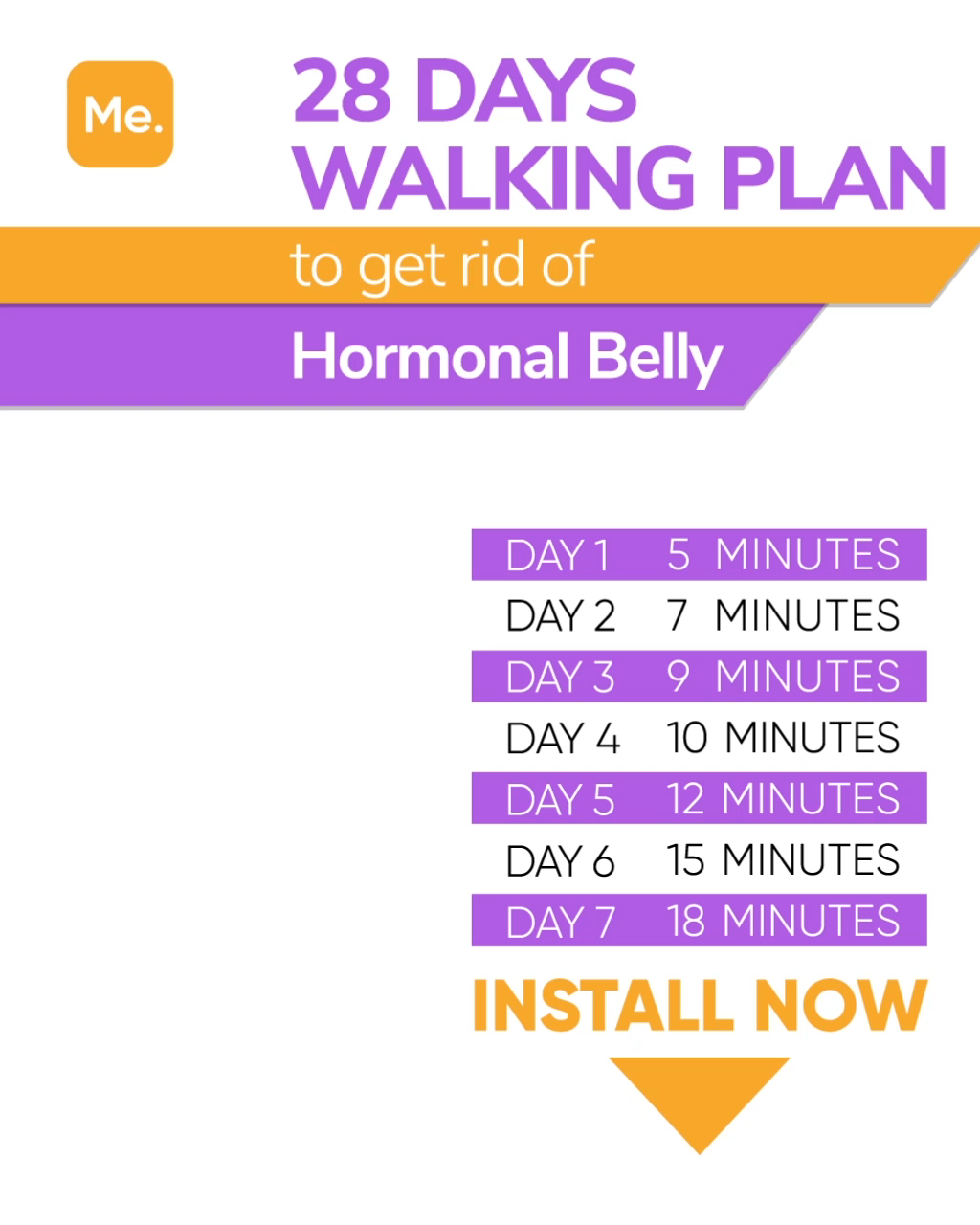WALKING PLAN FOR WEIGHT LOSS