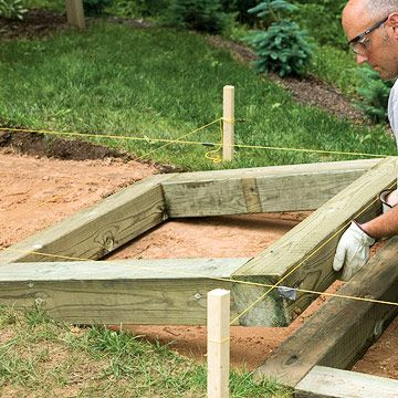 Best How To Install Timber And Brick Steps Brick Steps 640 x 480