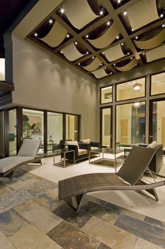 Moderne Deckengestaltung U2013 83 Schlaf Wohnzimmer Ideen69 Besten