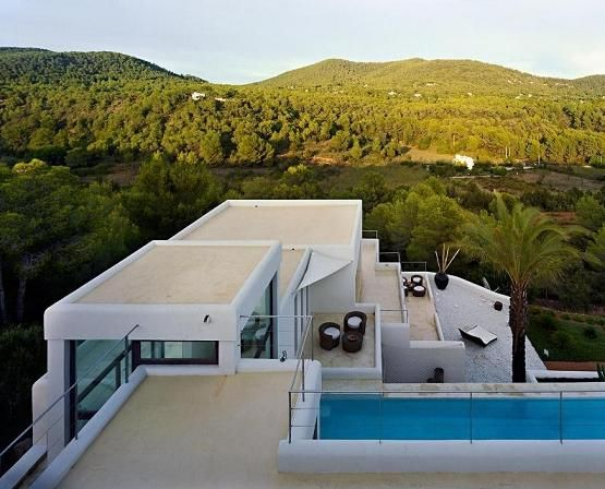 Delightful Casa Jondal 2 Ibiza Dream Residence Combining Spanish Architecture And  Modern Design Idea