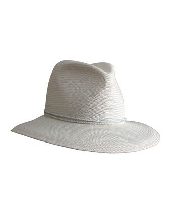 ff0488387b757b Nomad Packable Straw Fedora Hat by Yestadt Millinery at Bergdorf Goodman.