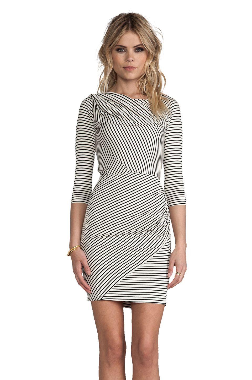 Greylin Calista Stripe Knit Dress Striped Knit Dress Knit Dress Dresses [ 1450 x 960 Pixel ]
