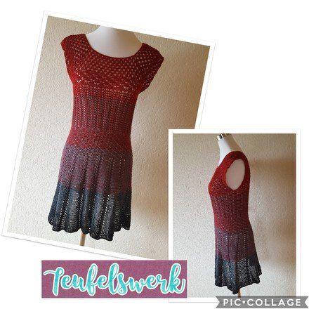 Häkle Dir jetzt ein Mini-Kleid // eine lange Tunika mit der PDF ...