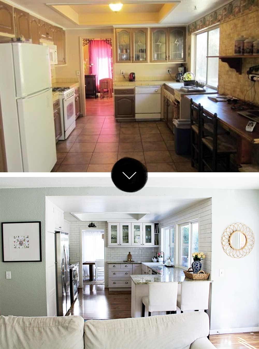 Before After A Modern Bohemian Fixer Upper In Southern California Home Remodeling Home Fixer Upper
