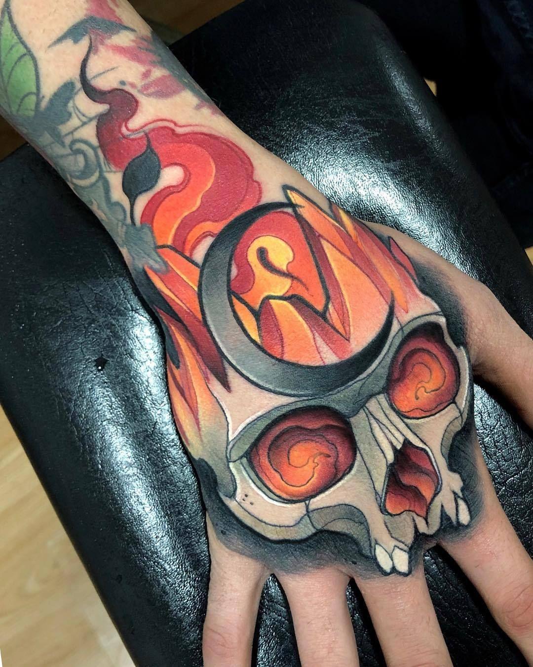 Juan David Rendon Hand Tattoos Tattoos Traditional Tattoo