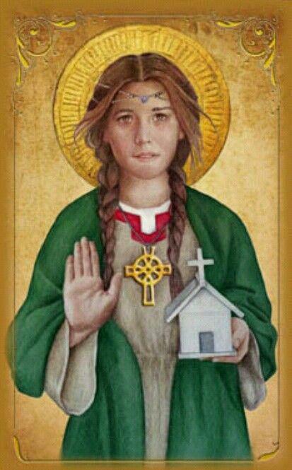 St. Dwynwen (patron Saint Of Lovers) Feast Day January 25