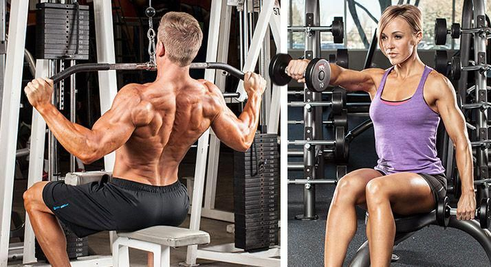 Some exercises, like lat pulls and most shoulder raises, are particularly hard to target the right m...