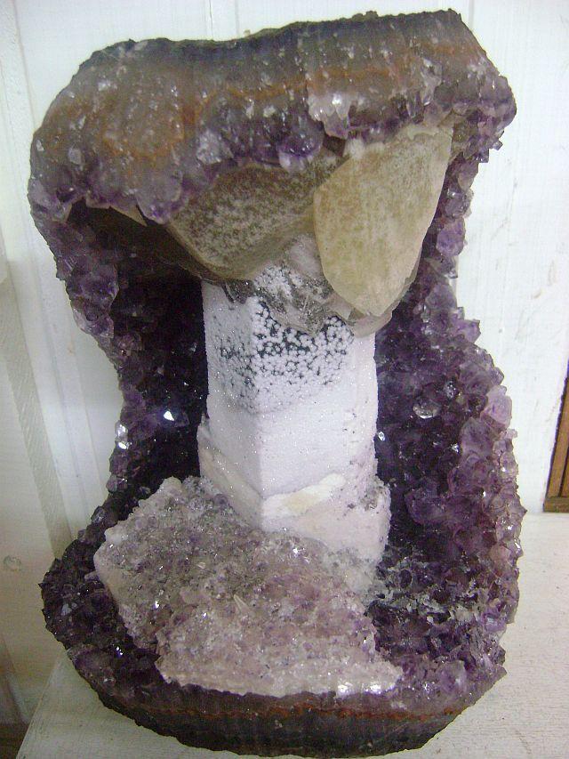 Uruguay Minerals Amethyst Special Pieces Kristallen Mineralen Mineralen Kristallen