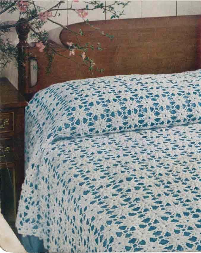 Maggies Crochet Popcorn Motif Bedspread Free Pattern Got To Try