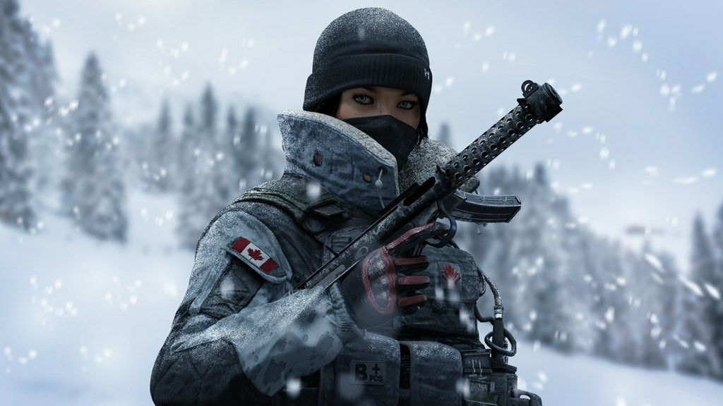Look How Good This Render Is Ahhh Rainbow Six Siege Art Frost