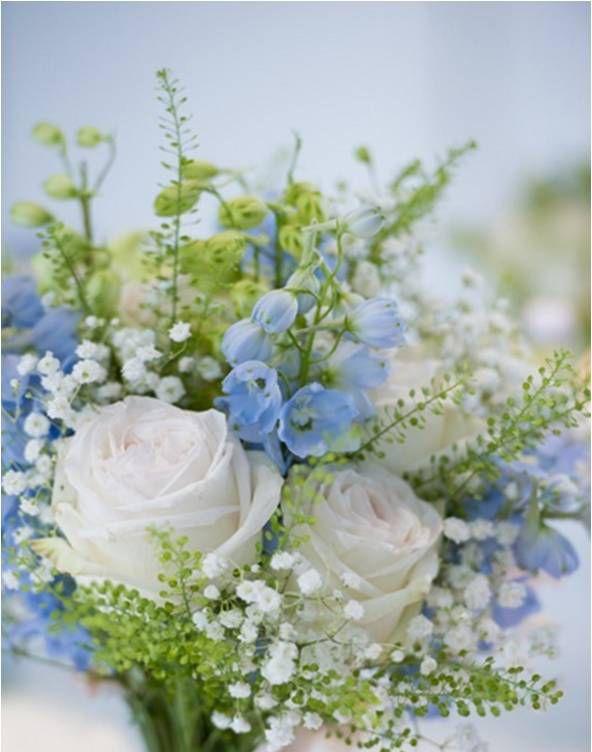 Excepcional Buquê de rosas, delfinos e gipsofilas. #casamento #noivas #buquê  BN32