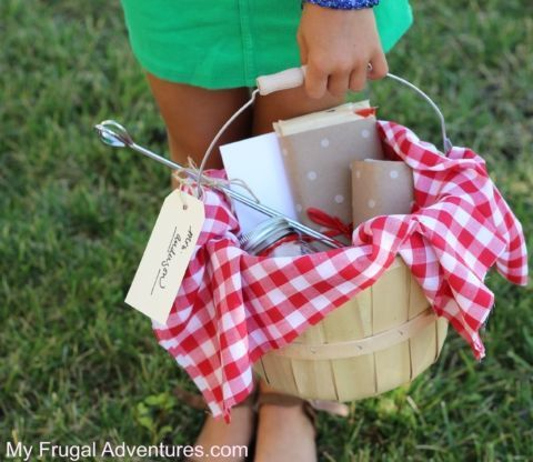 Photo of How to Make Homemade Marshmallows –  Smores Gift Basket Idea  – #aniversarygifts…