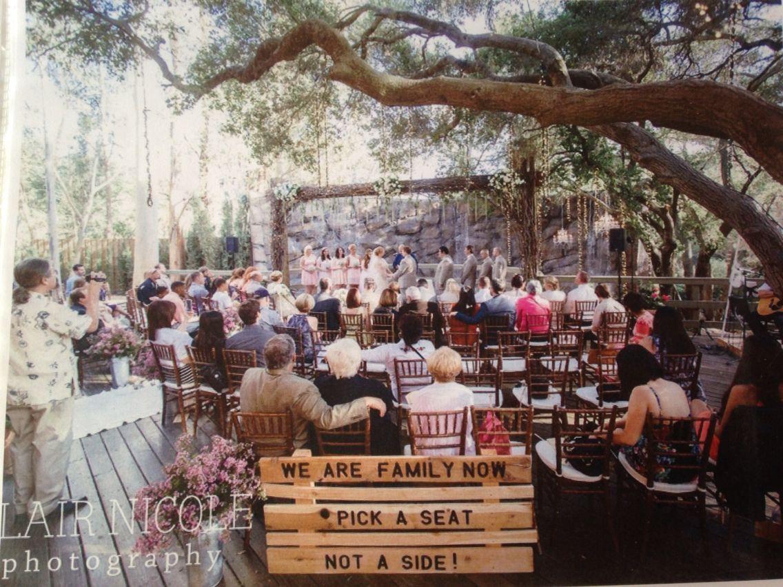 Calamigos the oak room Calamigos ranch wedding