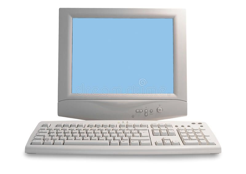 Old Computer On A White Background Affiliate Computer White Background Ad