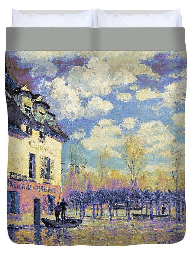 David Bridburg Duvet Cover featuring the digital art Rustic 15 Sisley by David Bridburg