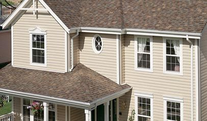 Wolverine Newtown Double 5 Dutchlap Horizontal Siding Vinyl Siding Polymer Shakes Certainteed Vinyl Siding Exterior House Renovation Siding