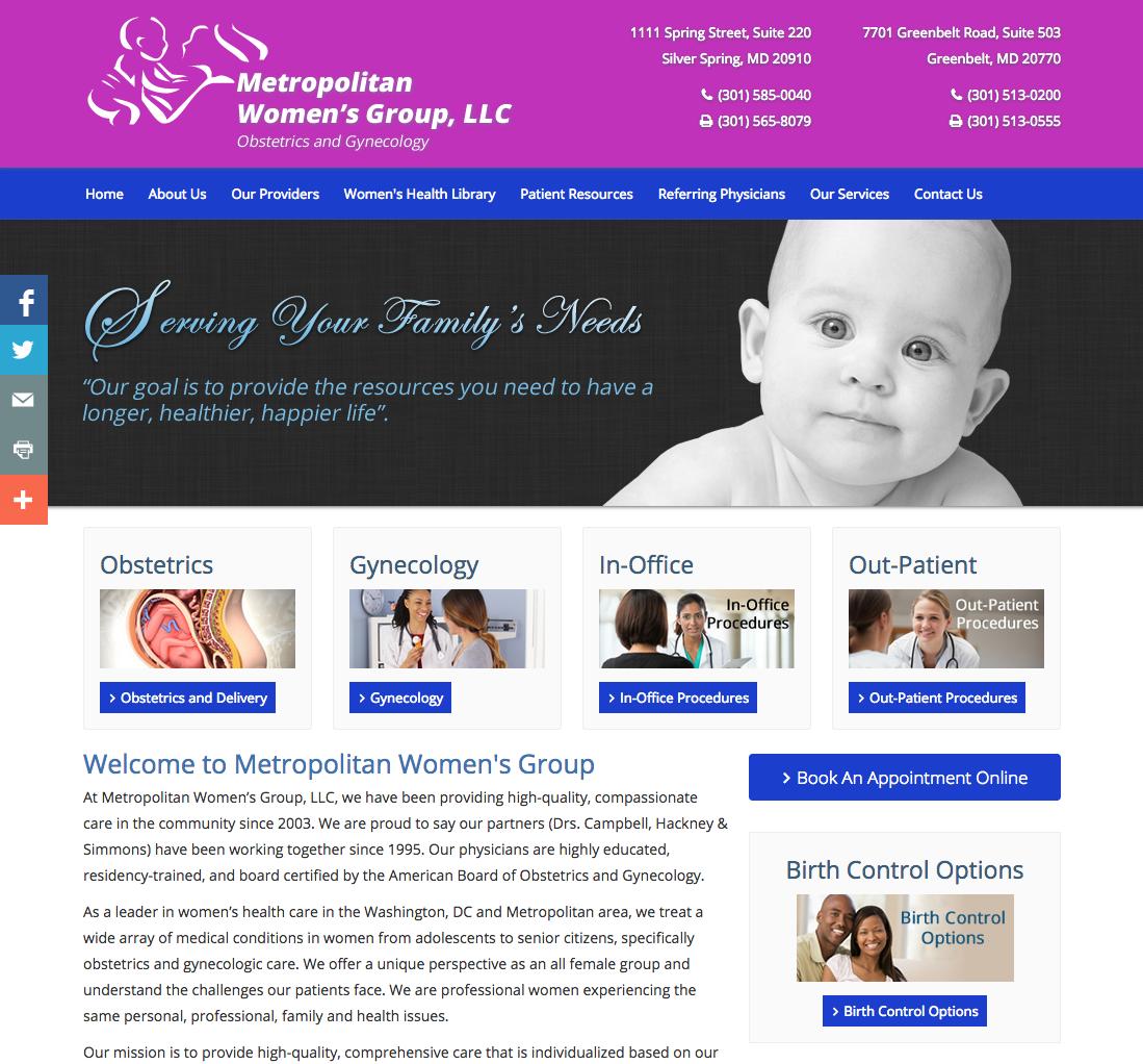 Pin by Medical Website Design on ObGyn Website Designs
