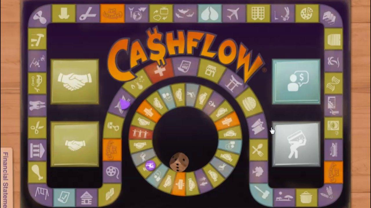 Rich Dad Poor Dad Robert Kiyosaki How to play Cashflow