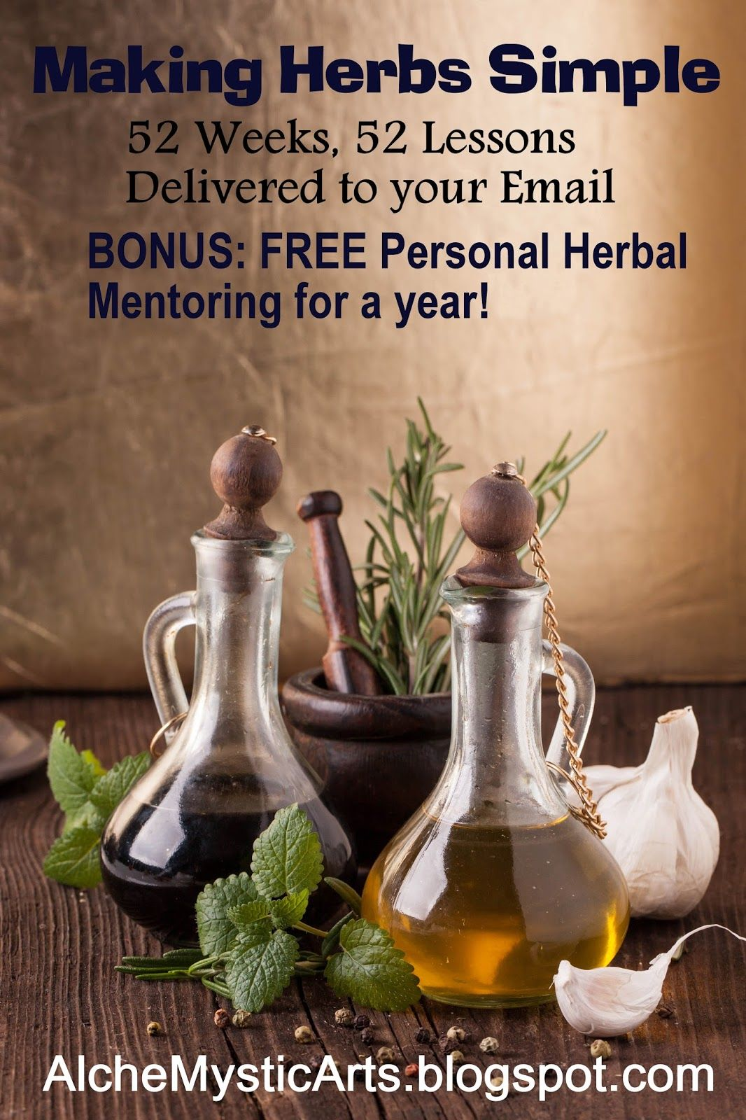 Do you want to learn how to make herbal medicine for you, your family, and friends?   Come join us for a whole year of easy lessons to l...