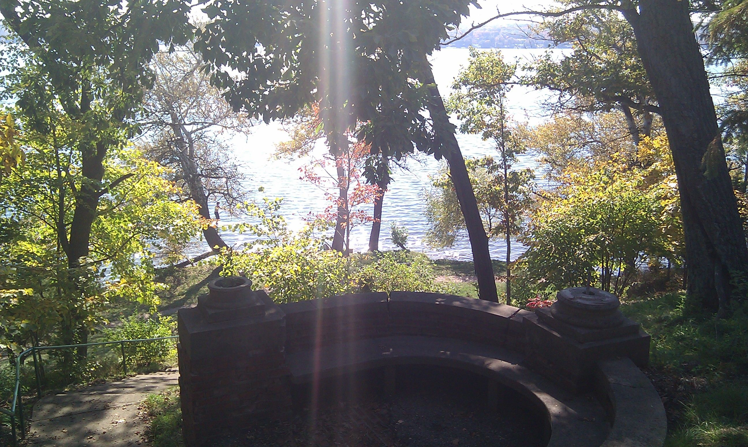 On the north shore of Lake Geneva, Lake Path